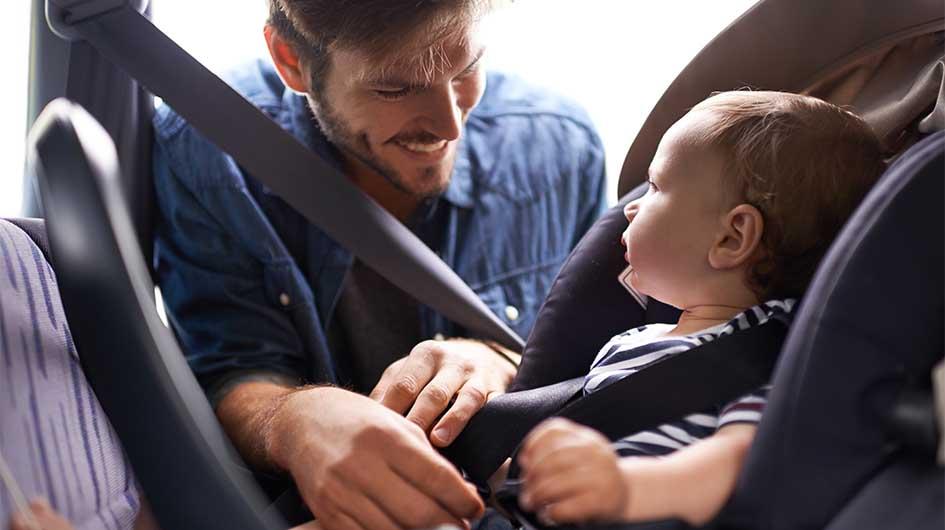 Η ασφάλεια του μωρού μου στο αυτοκίνητο